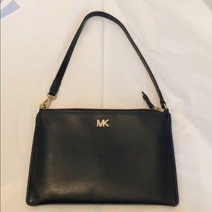 Michael Kors Medium Convertible Leather Pouchette